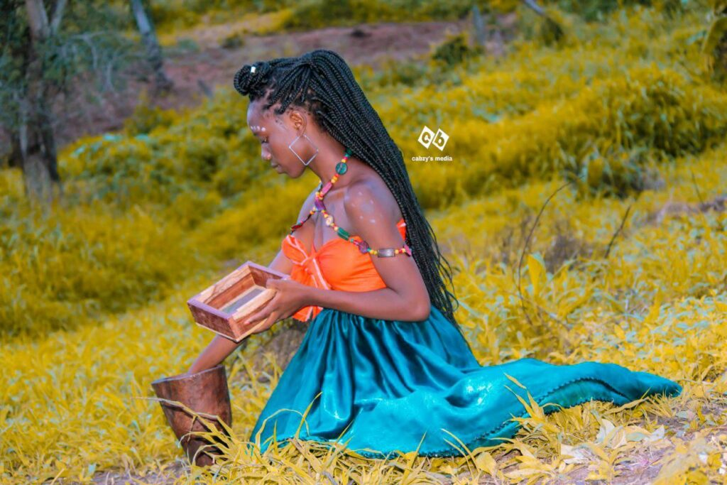 Kokwa the Model Flaunts her Inextricable Cultural Practice