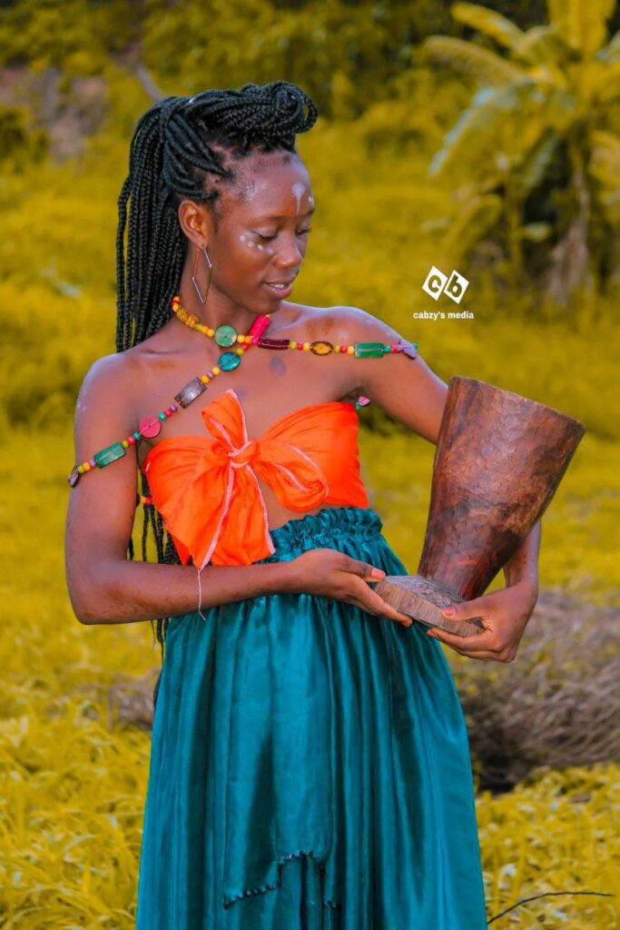 African Cultural Practice: Kokwa Flaunts her Inextricable Cultural Practice