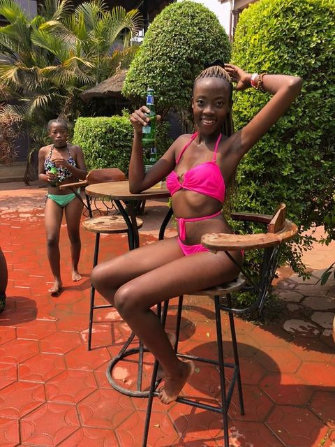 Candy Kambole's Summer Thirst Trap in a Steamy Bikini