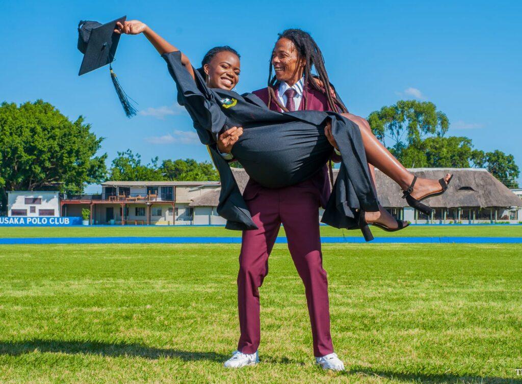 Maiko Zulu Celebrates his Daughter: Mwiza Zulu on her Graduation