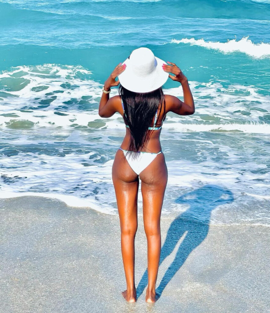 Alice Rowland's Musukwa Flaunts Sizzling Skin in Bikini