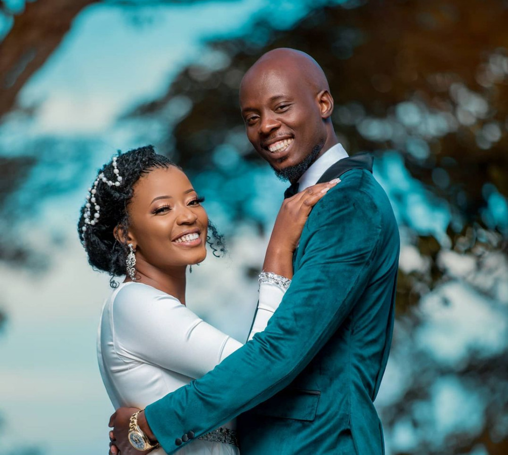 Pompi and Esther Chungu Tie the Knot in a Beautiful White Wedding