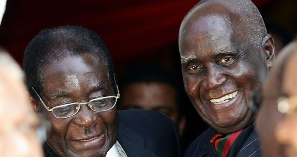 Kaunda was a close ally of the late Zimbabwean leader Robert Mugabe