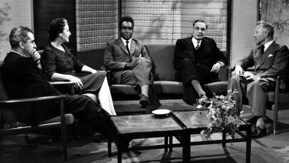 Kaunda appearing on the BBC's Brains Trust in 1960