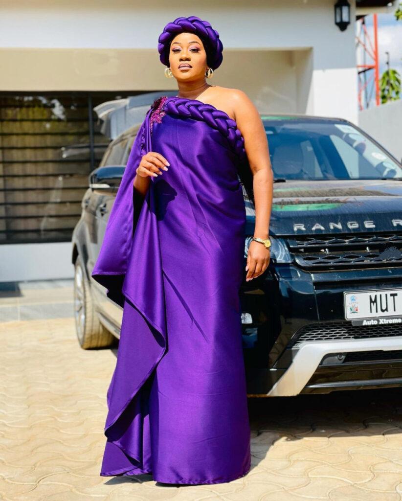 Mutale Mwanza Steps on Necks with the Kaunda Dress Rocked