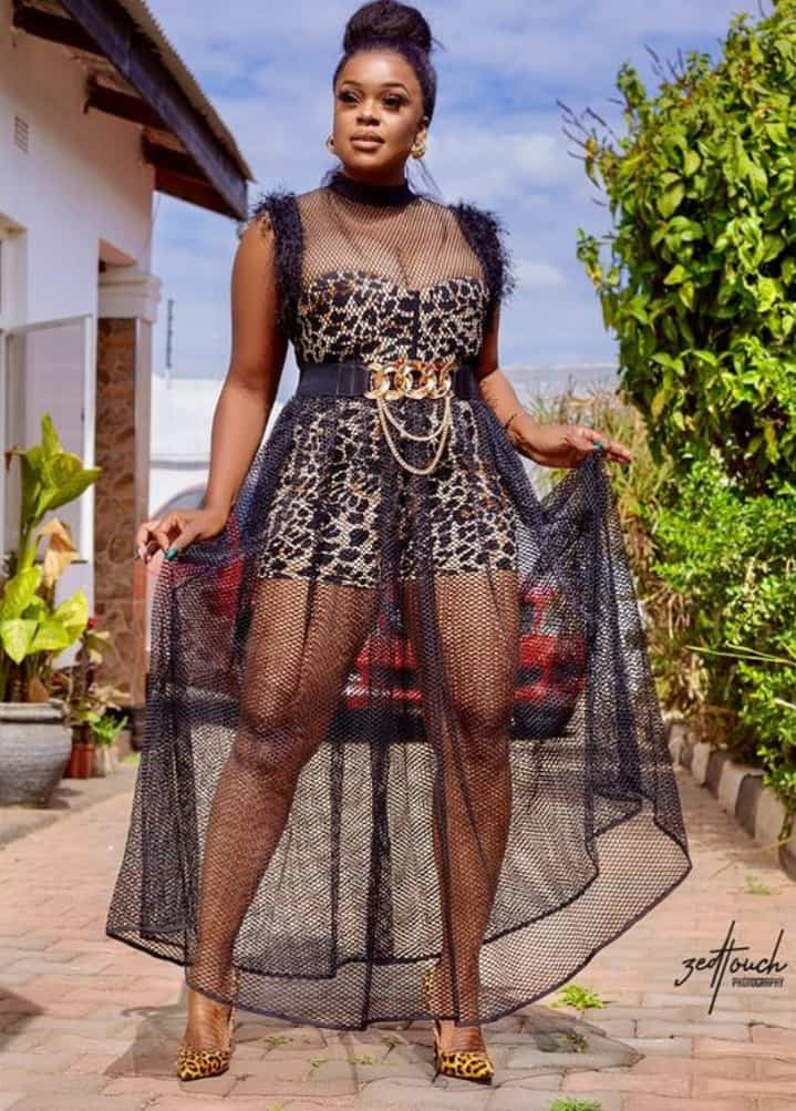 """Mampi Queen Diva Sends """"Leopard Print Vibez"""" Goal"""