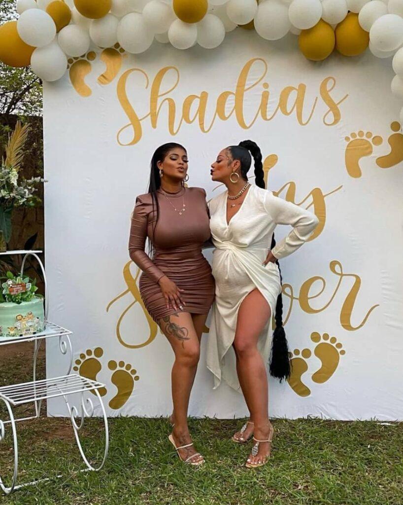 Inside Shadaya's Baby Shower