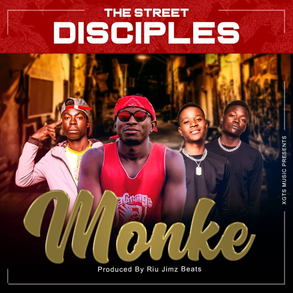 Street Disciples - Monke (Official Audio) artcover