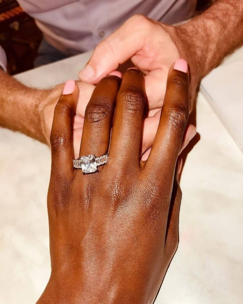 Alice Rowlands Musukwa's Engagement Ring