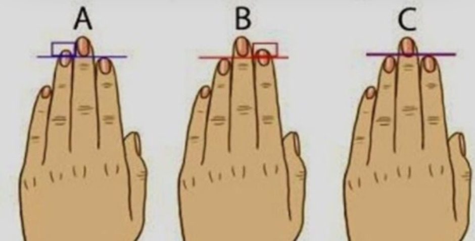 3 things your finger length could say about your personality